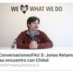 CONVERSACIONES FAU 3  Plataforma Arquitectura